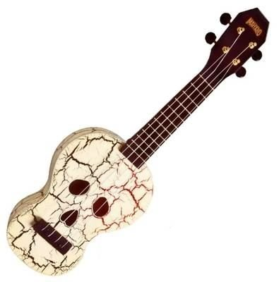 Mahalo MC1SK/WT Day of the Dead Ukelele