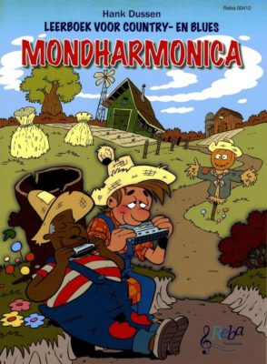 Leerboek voor Country & Blues Mondharmonica
