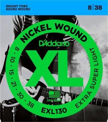 D'addario EXL130 Electr. 8-38