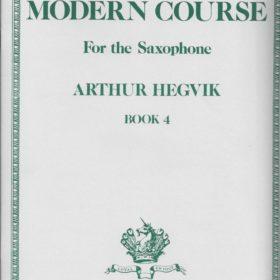 Modern Course Book 4 - Saxophone