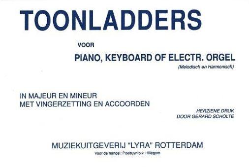 Toonladders voor Piano/Keyboard