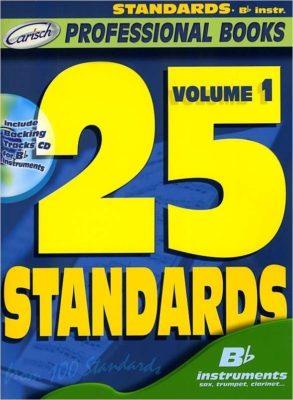 Carish; 25 Standards, volume 1 (Bb) (+CD)