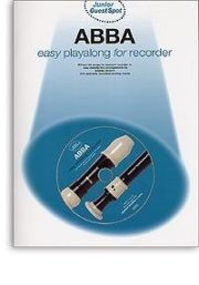 Junior Guest Spot: Abba, Easy Playalong for Recorder