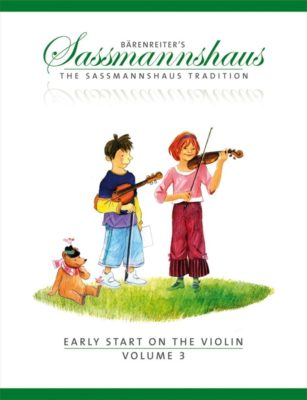 Sassmannshaus; Early Start on the Violin, Volume 3 (EN)