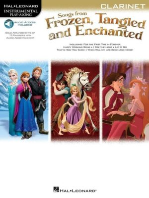 Songs From Frozen; Tangled & Enchanted - Clarinet