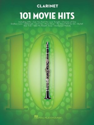 101 Movie Hits for Clarinet