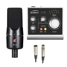 SE Electronics X1S Recording Bundle Audient ID4