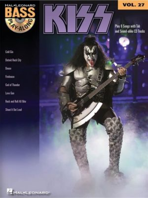 Bass Play-Along: Kiss (Volume 27)