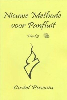 Nieuwe Methode voor Panfluit 3 (+CD)