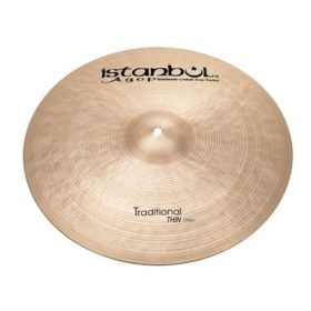 "Istanbul Agop 17"" Traditional Series Crash Thin"