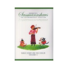 Sassmannshaus; Early Start on the Violin, Volume 2 (EN)