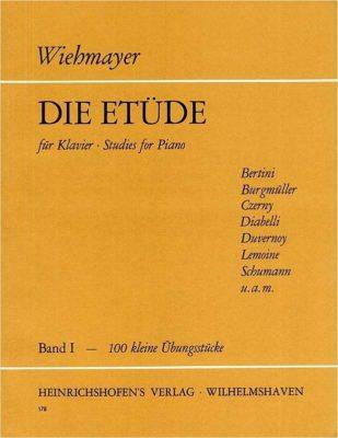 Wiehmayer: Etudes 1