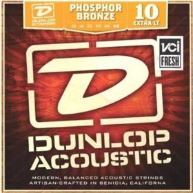 Dunlop Phosphor Bronze 10