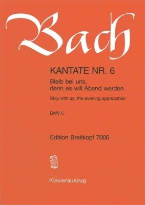 BACH; Kantate Nr. 6