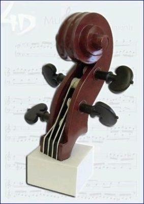 Strijkinstrument-Kop 4D Model