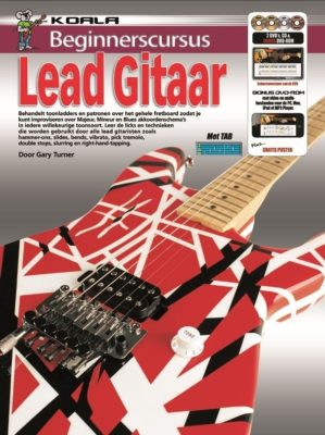 Beginnerscursus Lead Gitaar (Boek + CD + 2DVD + DVD-ROM)