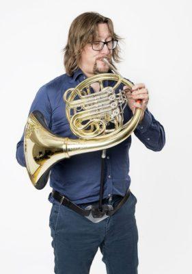 ERGObrass French Horn Support