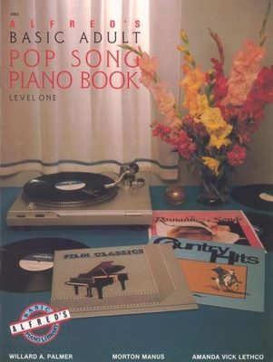 Alfred's Basic Adult Pop Song Piano Book, Level 1