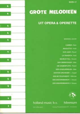 Grote Melodieen 17; Uit Opera & Operette