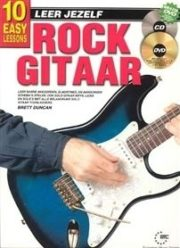Leer Jezelf Rock Guitar (Book + CD + DVD)