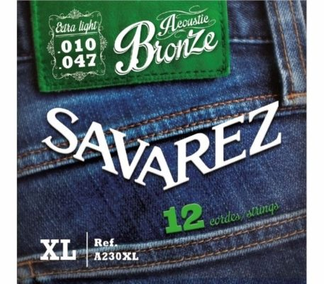 Savarez A230XL 12 snarige Bronze 10-47