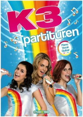 K3 Partituren & Ghost Rockers Partituren (PVG)