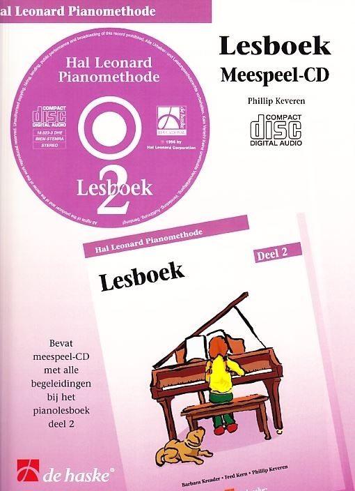 Hal leonard piano Lesboek 2 | Meespeel-CD