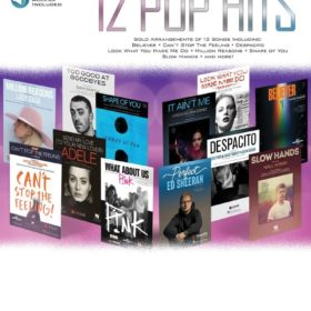 12 Pop Hits - Alto Saxophone