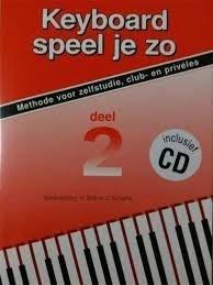 Keyboard Speel Je Zo 2 (+CD)
