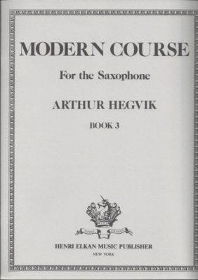Modern Course Book 3 - Saxophone