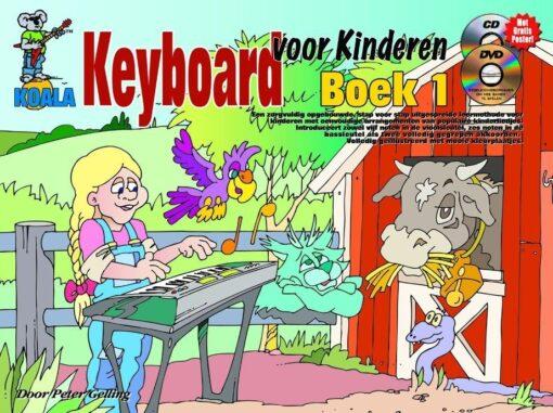 Keyboard Voor Kinderen, Boek 1 (+CD +DVD)