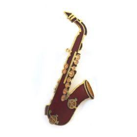 Broche: Saxofoon R