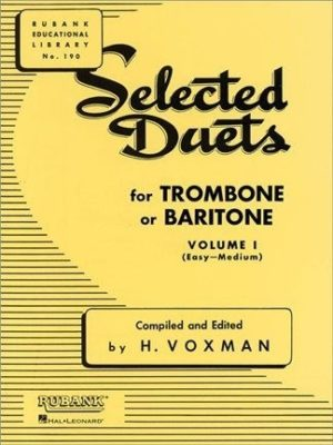 Selected Duets for Trombone Vol. 1