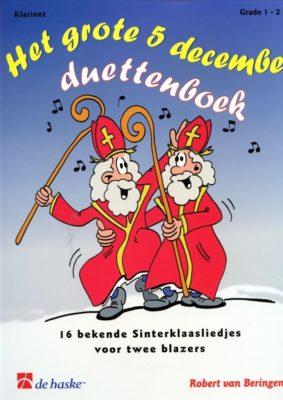 Het Grote 5 december Duettenboek (Klarinet)