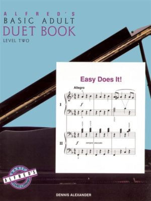 Alfred's Basic Adult Piano Course Duet Book 2