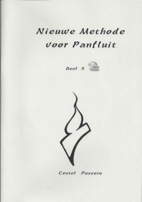 Nieuwe Methode Voor Panfluit 5 (+CD)
