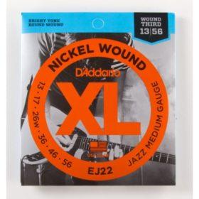 D'addario EJ22 Nickel Wound 13-56