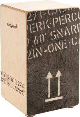 Schlagwerk CP404BLK 2 In One Cajon Black