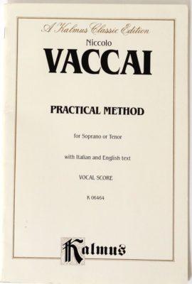 Practical Method For Soprano or Tenor