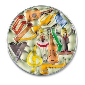 Koekjes Uitsteekvorm: Muziekmotieven