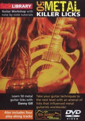Learn To Play: 50 Metal Killer Licks