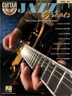 Guitar Play-Along, Volume 44: Jazz Greats
