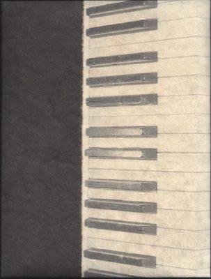Notitie Boek: A4 met Klavier