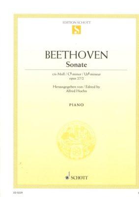 Beethoven: Sonate 14 Cis-Moll, Opus 27/2 (Mondschein)