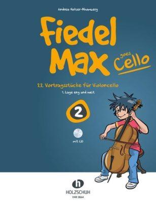 Fiedel Max goes Cello 2 (+CD)