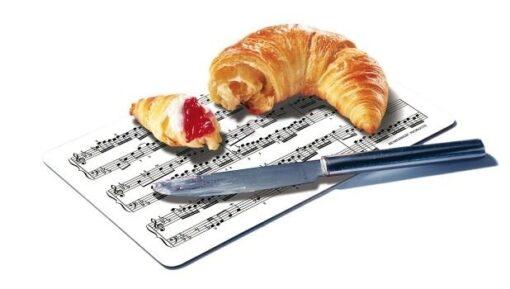 Ontbijtplankje voor Muzikanten