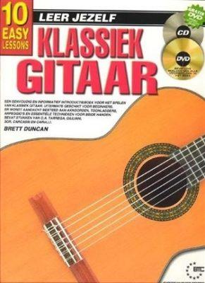 Leer Jezelf Klassiek Gitaar (Boek +CD + DVD)
