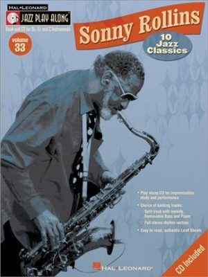 Jazz Play Along: Volume 33 - Sonny Rollins