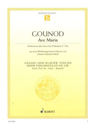 Gounod; Ave Maria (hoge stem)