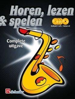 Horen Lezen & Spelen; Complete Uitgave - Altsaxofoon